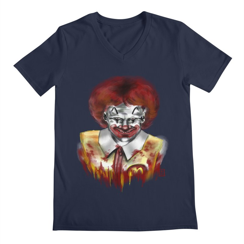 Loving It! Men's V-Neck by jeffcarpenter's Artist Shop