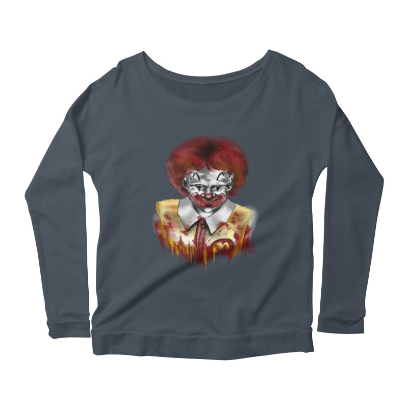 Loving It! Women's Longsleeve Scoopneck  by jeffcarpenter's Artist Shop