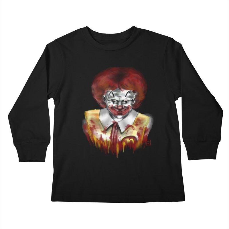 Loving It! Kids Longsleeve T-Shirt by jeffcarpenter's Artist Shop