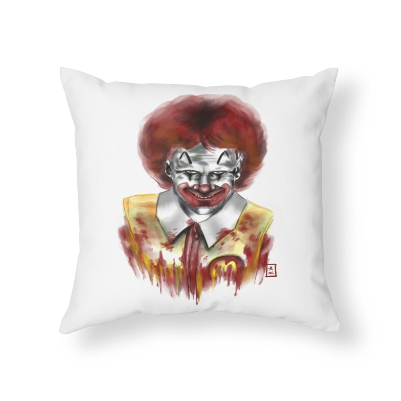 Loving It! Home Throw Pillow by jeffcarpenter's Artist Shop