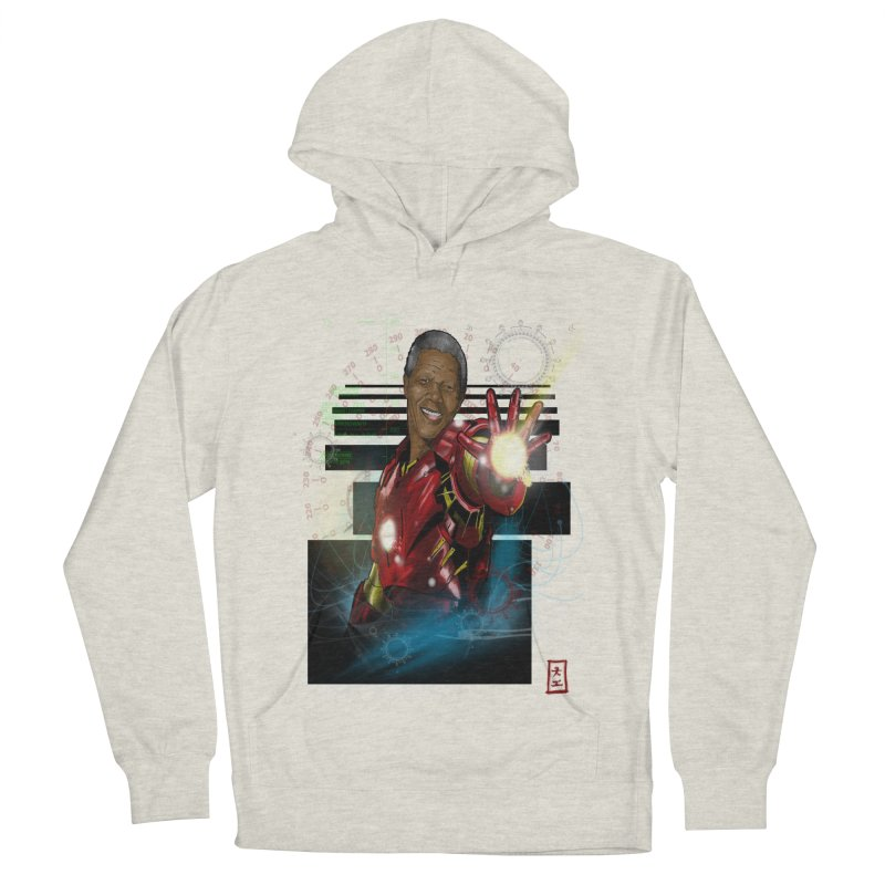 Iron Mandela Women's Pullover Hoody by jeffcarpenter's Artist Shop