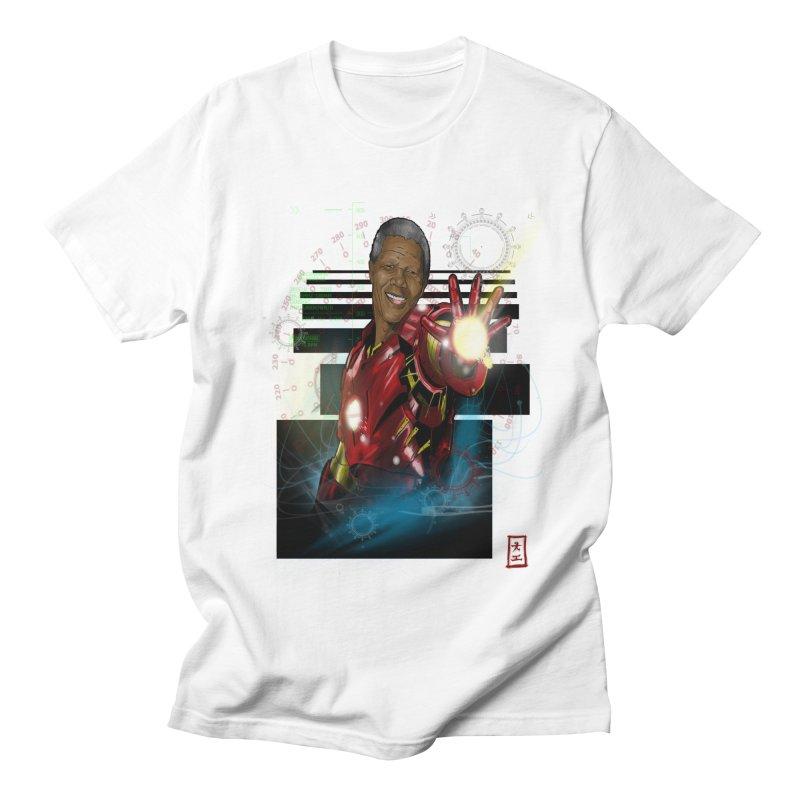 Iron Mandela Women's Unisex T-Shirt by jeffcarpenter's Artist Shop