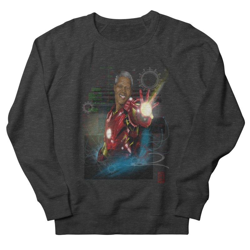 Iron Mandela Women's Sweatshirt by jeffcarpenter's Artist Shop