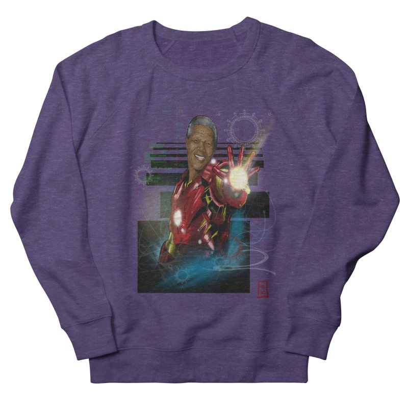 Iron Mandela Women's Sweatshirt by jeffcarpenter's Artist Shop