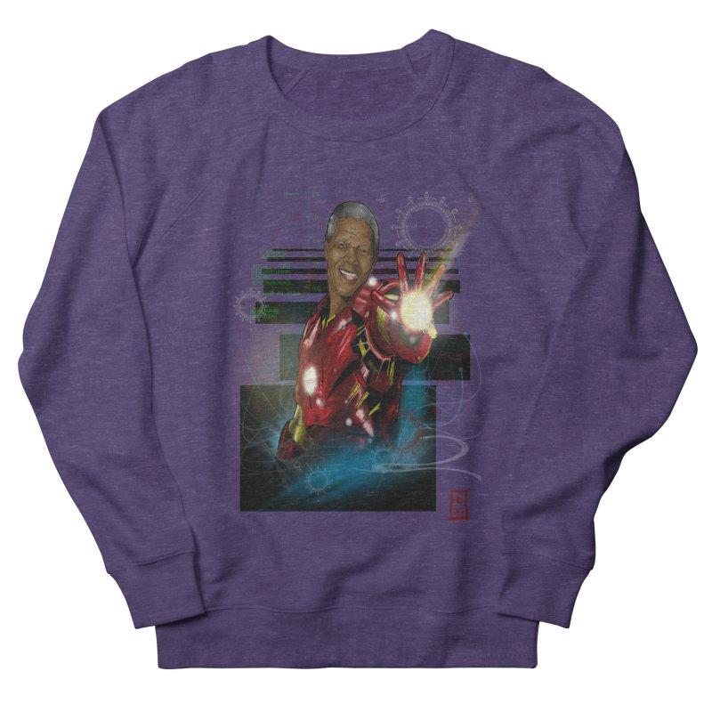 Iron Mandela Men's Sweatshirt by jeffcarpenter's Artist Shop