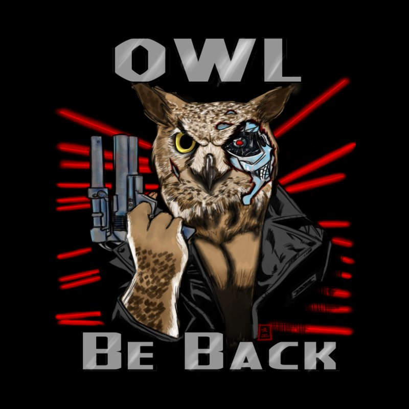 Owl Be Back by jeffcarpenter's Artist Shop