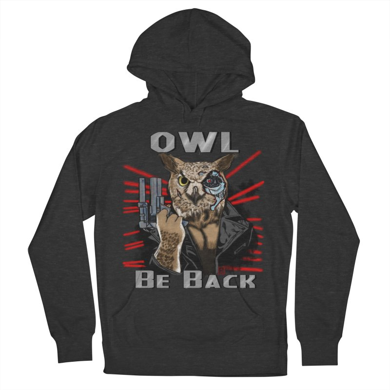 Owl Be Back Men's Pullover Hoody by jeffcarpenter's Artist Shop