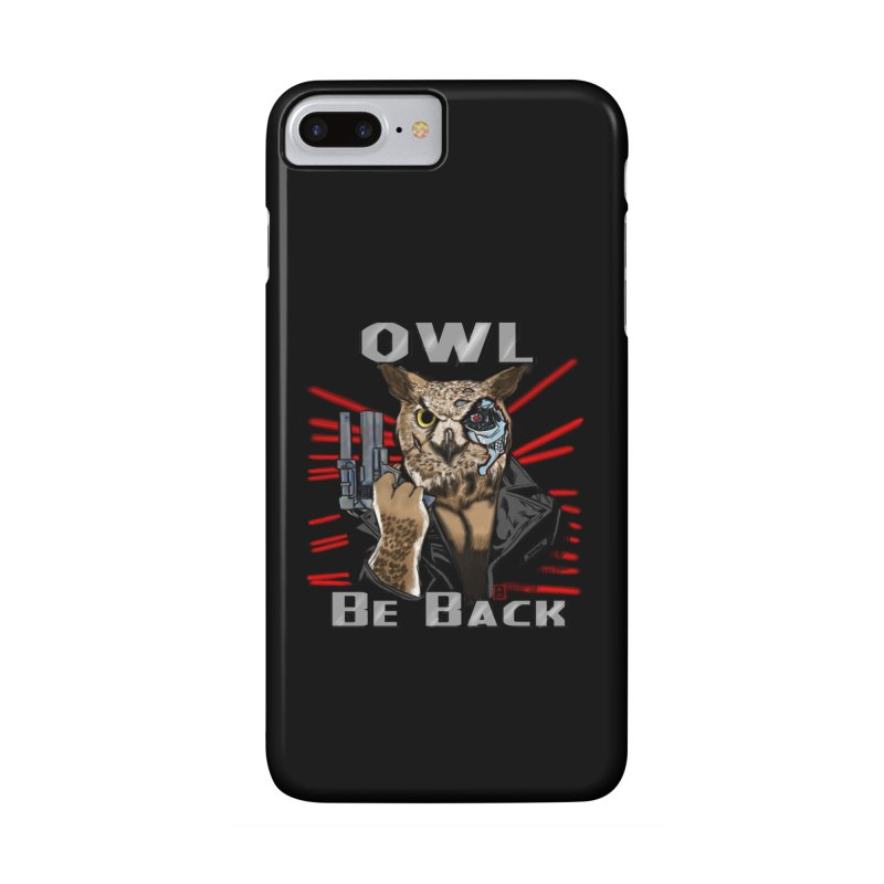 Owl Be Back Accessories Phone Case by jeffcarpenter's Artist Shop