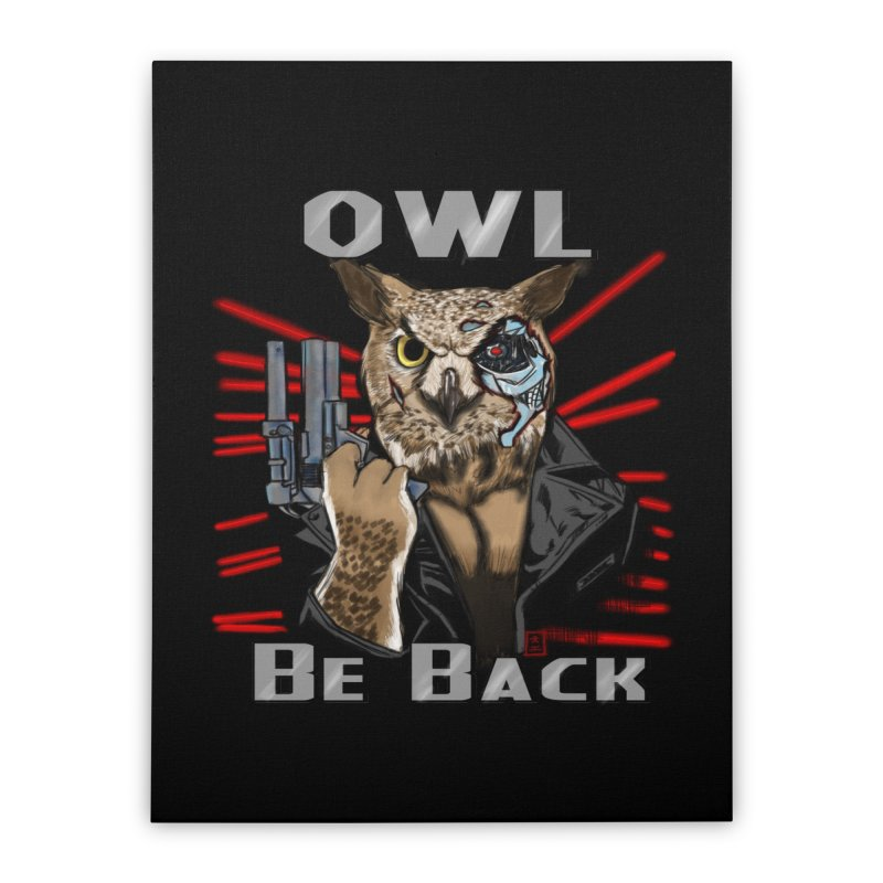 Owl Be Back Home Stretched Canvas by jeffcarpenter's Artist Shop