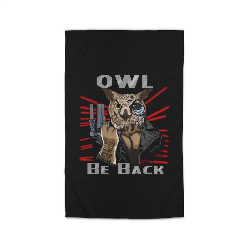 Owl Be Back Home Rug by jeffcarpenter's Artist Shop