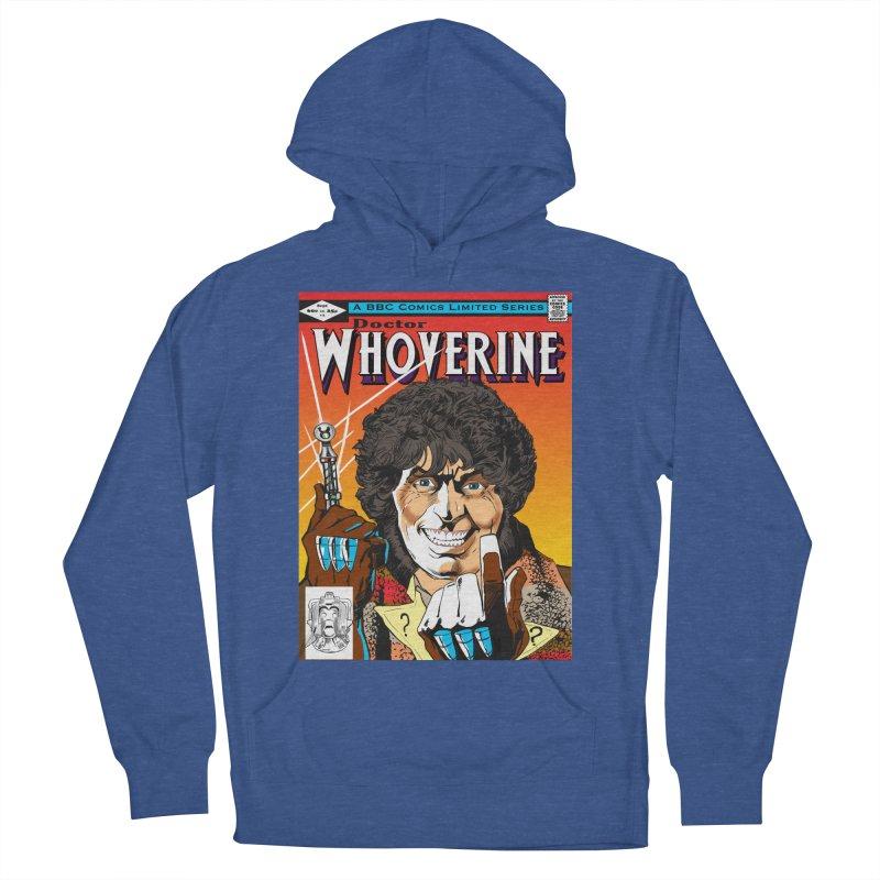 Doctor Whoverine Men's Pullover Hoody by jeffcarpenter's Artist Shop