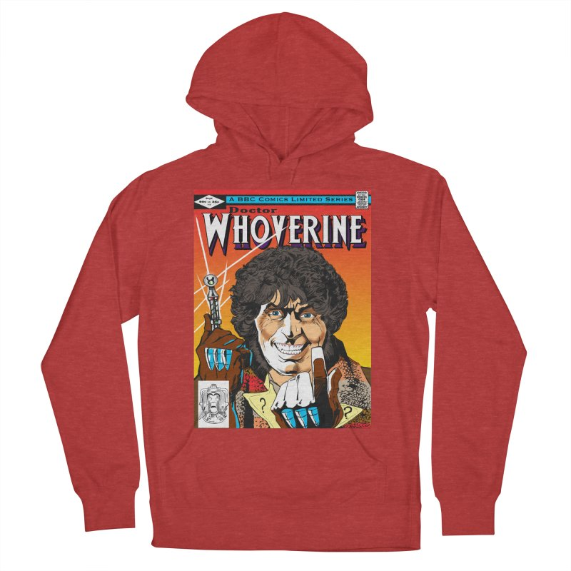 Doctor Whoverine Men's Pullover Hoody by jeffcarpenter's Artist Shop