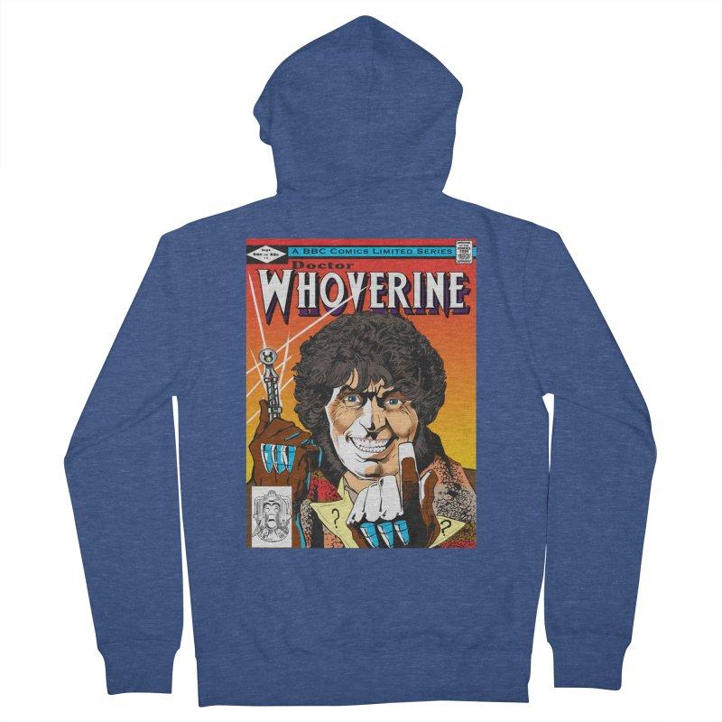Doctor Whoverine Women's Zip-Up Hoody by jeffcarpenter's Artist Shop