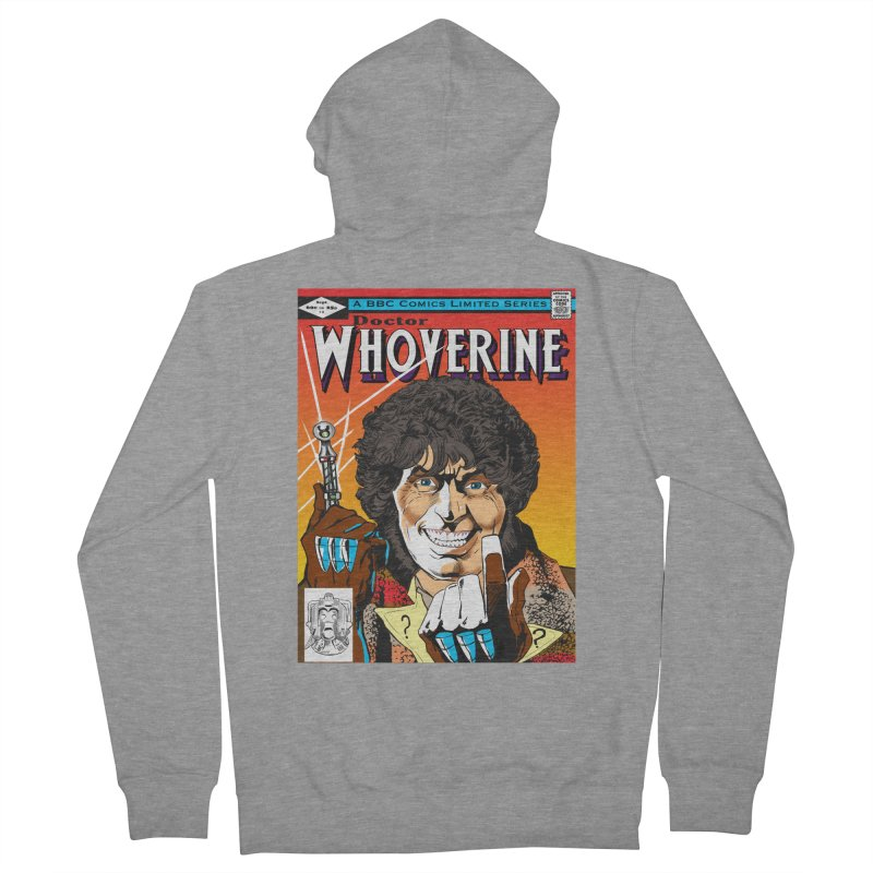 Doctor Whoverine Women's Zip-Up Hoody by jeffcarpenter's Artist Shop