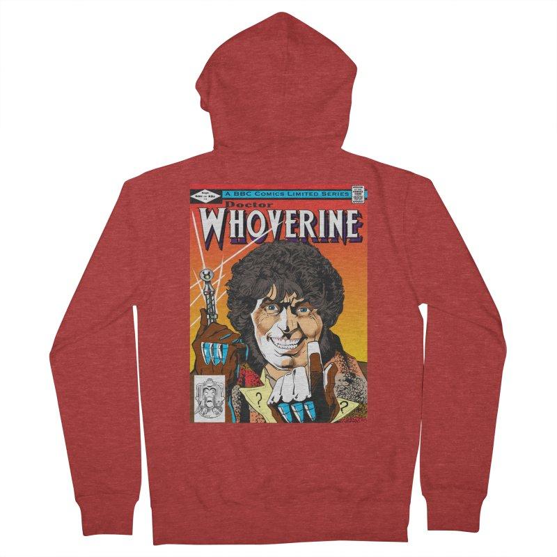 Doctor Whoverine Men's Zip-Up Hoody by jeffcarpenter's Artist Shop