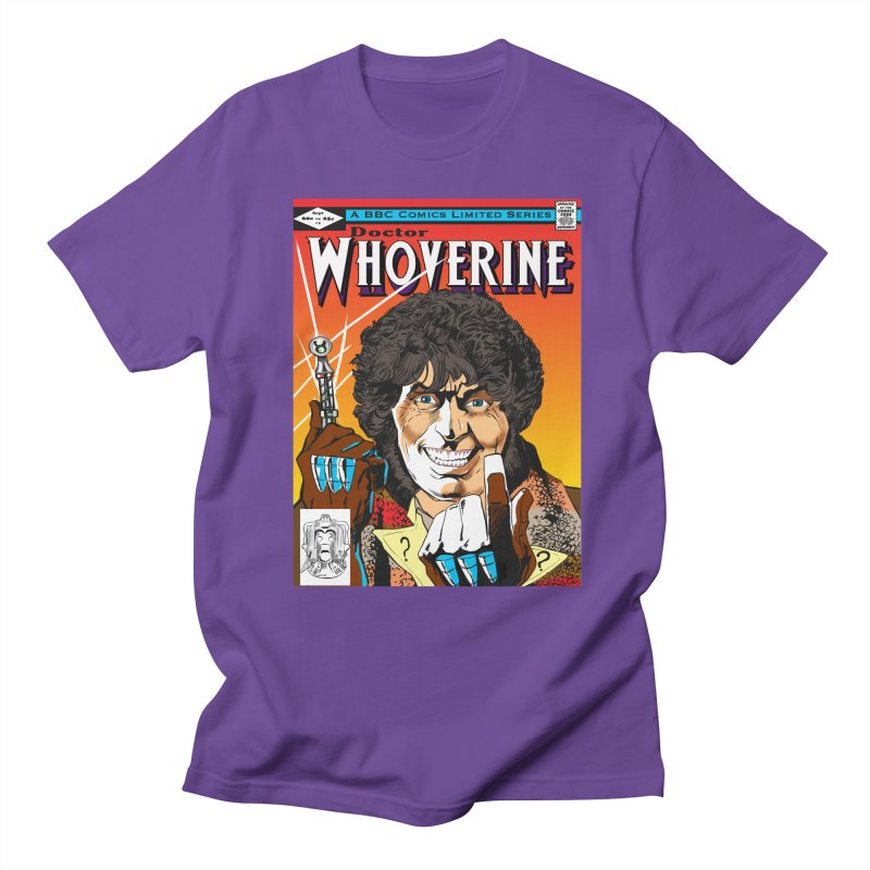 Doctor Whoverine Men's T-shirt by jeffcarpenter's Artist Shop