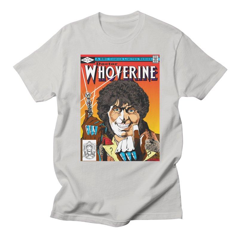 Doctor Whoverine Men's T-Shirt by jeffcarpenter's Artist Shop