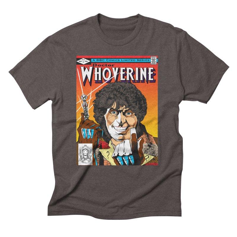 Doctor Whoverine Men's Triblend T-shirt by jeffcarpenter's Artist Shop