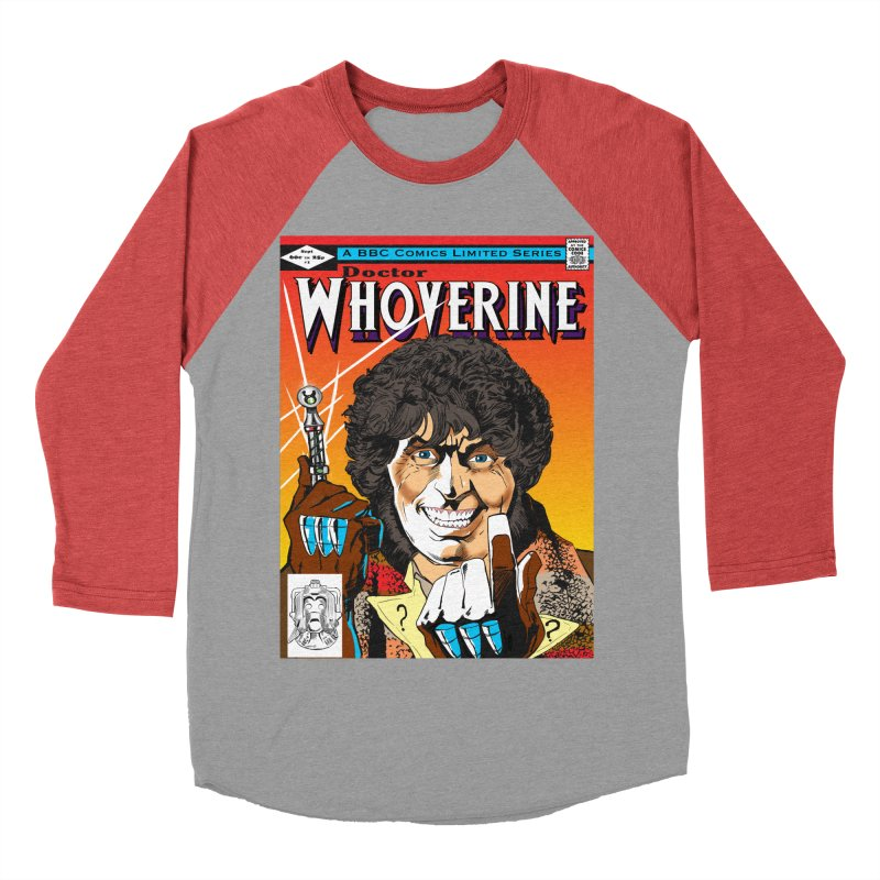 Doctor Whoverine Women's Baseball Triblend T-Shirt by jeffcarpenter's Artist Shop
