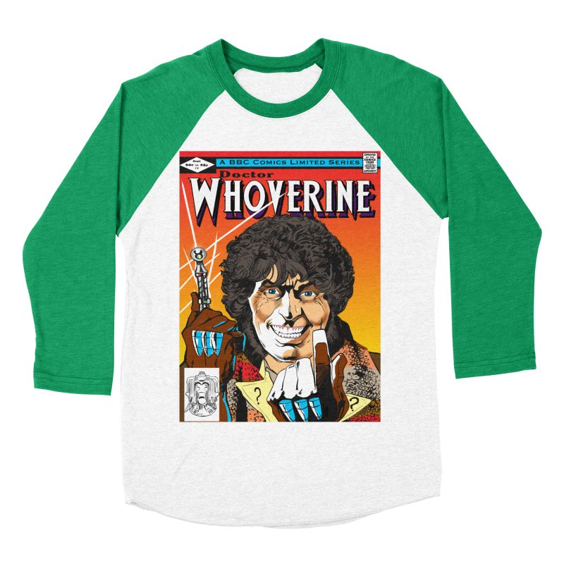 Doctor Whoverine Men's Baseball Triblend T-Shirt by jeffcarpenter's Artist Shop