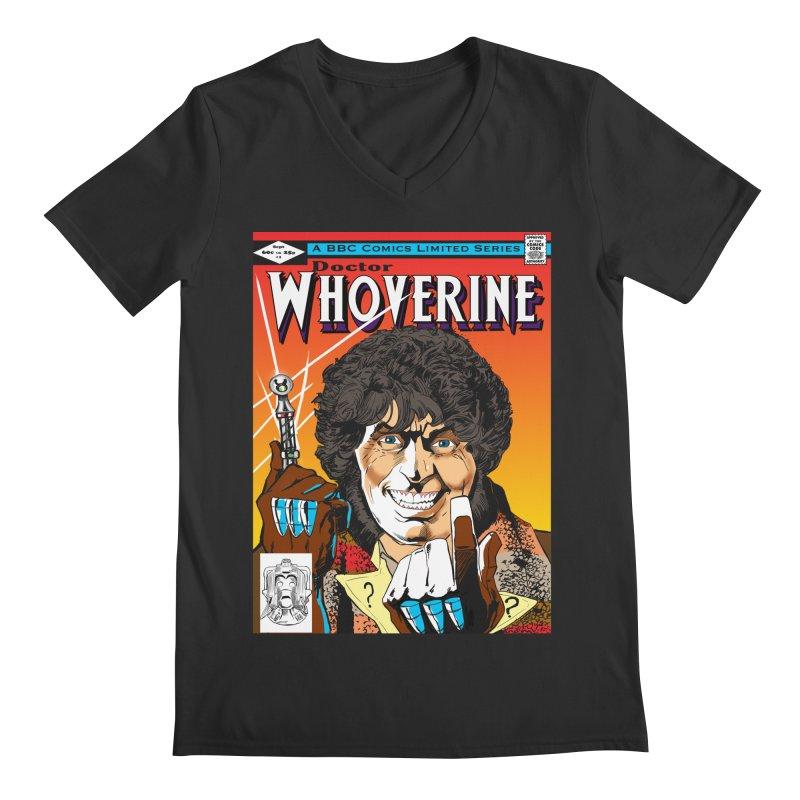 Doctor Whoverine Men's V-Neck by jeffcarpenter's Artist Shop