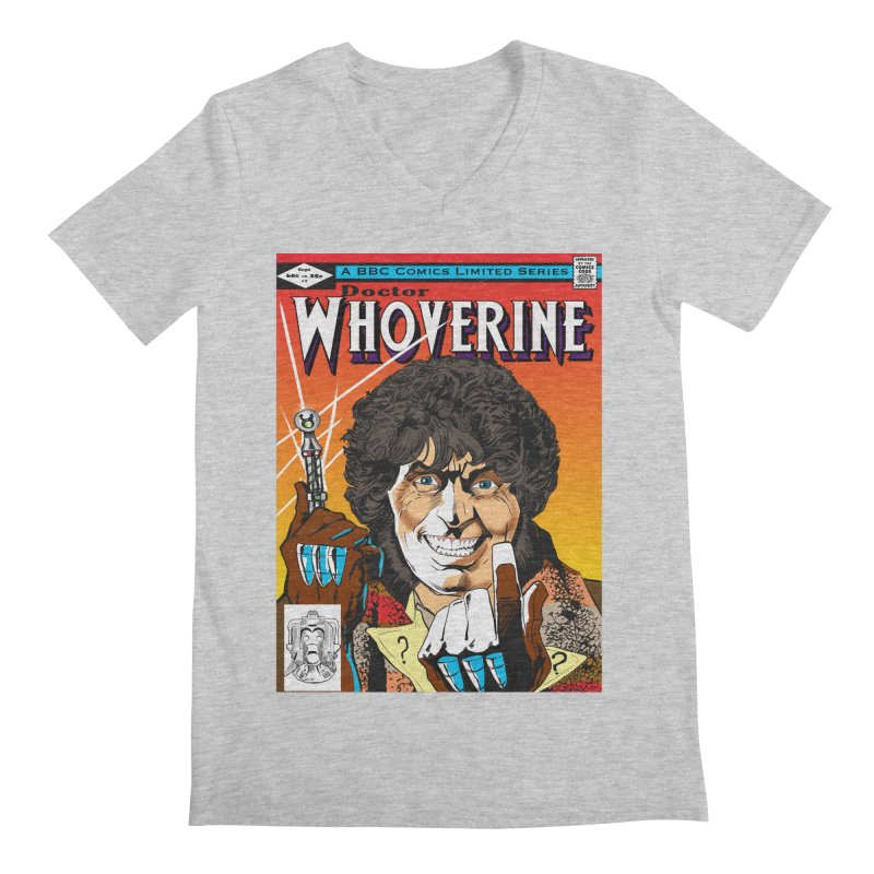 Doctor Whoverine Men's V-Neck by jeffcarpenter's Artist Shop