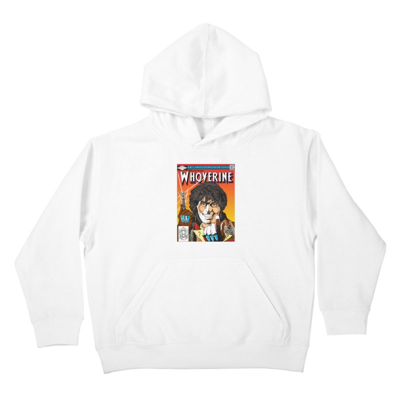 Doctor Whoverine Kids Pullover Hoody by jeffcarpenter's Artist Shop