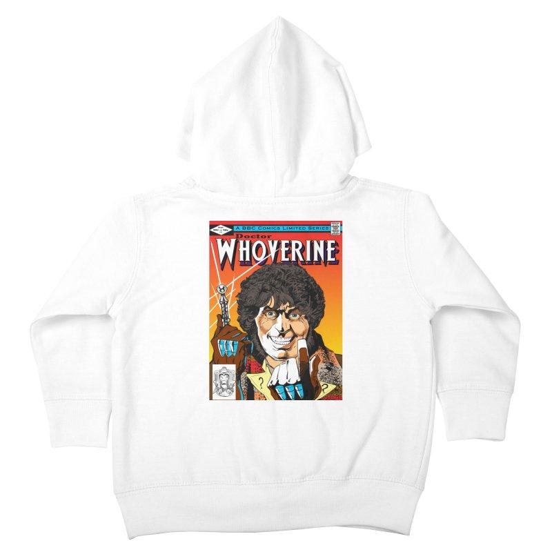 Doctor Whoverine Kids Toddler Zip-Up Hoody by jeffcarpenter's Artist Shop