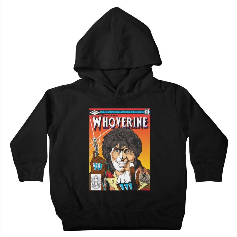 Doctor Whoverine Kids Toddler Pullover Hoody by jeffcarpenter's Artist Shop