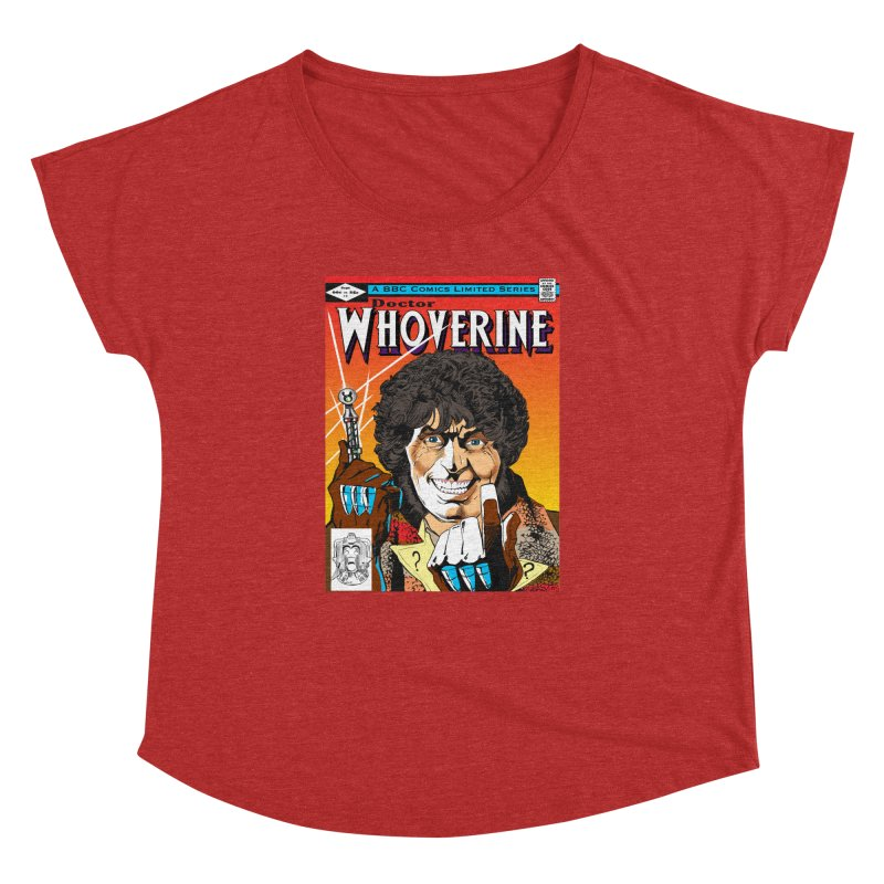 Doctor Whoverine Women's Dolman by jeffcarpenter's Artist Shop