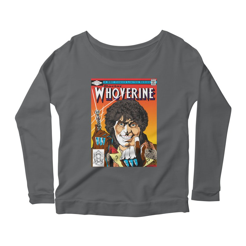 Doctor Whoverine Women's Longsleeve Scoopneck  by jeffcarpenter's Artist Shop