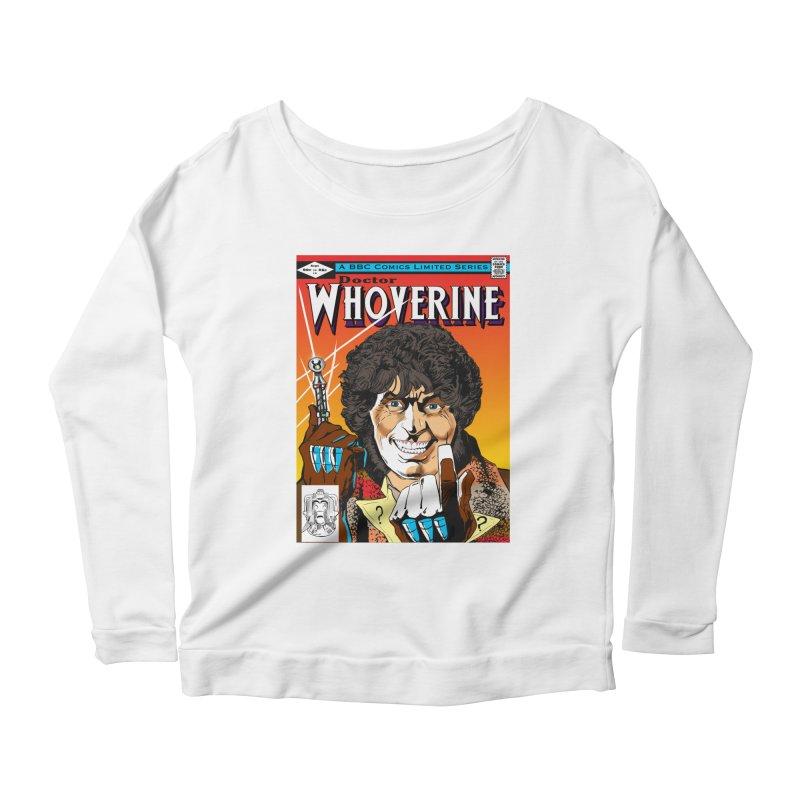 Doctor Whoverine Women's Longsleeve Scoopneck  by jeffcarpenter's Artist Shop