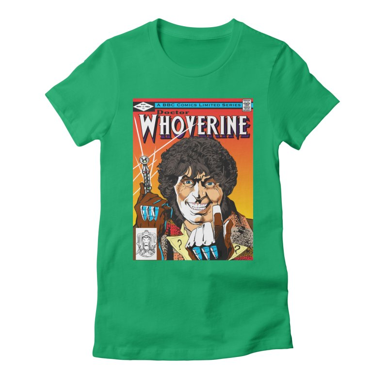 Doctor Whoverine Women's Fitted T-Shirt by jeffcarpenter's Artist Shop