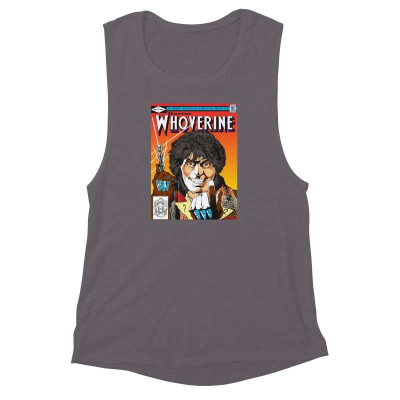 Doctor Whoverine Women's Muscle Tank by jeffcarpenter's Artist Shop