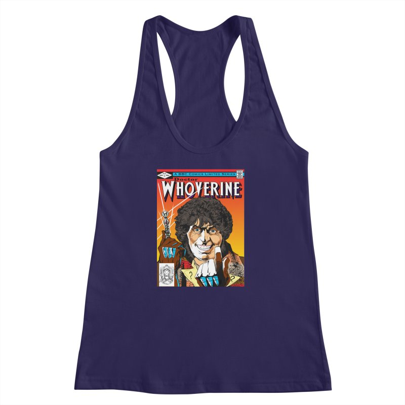 Doctor Whoverine Women's Racerback Tank by jeffcarpenter's Artist Shop