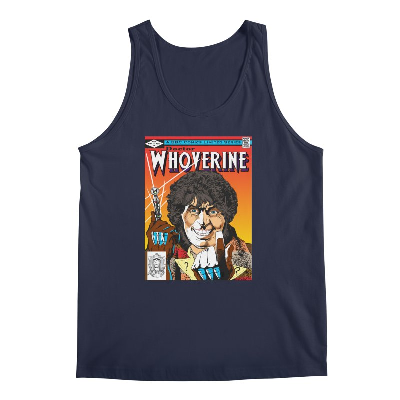 Doctor Whoverine Men's Tank by jeffcarpenter's Artist Shop