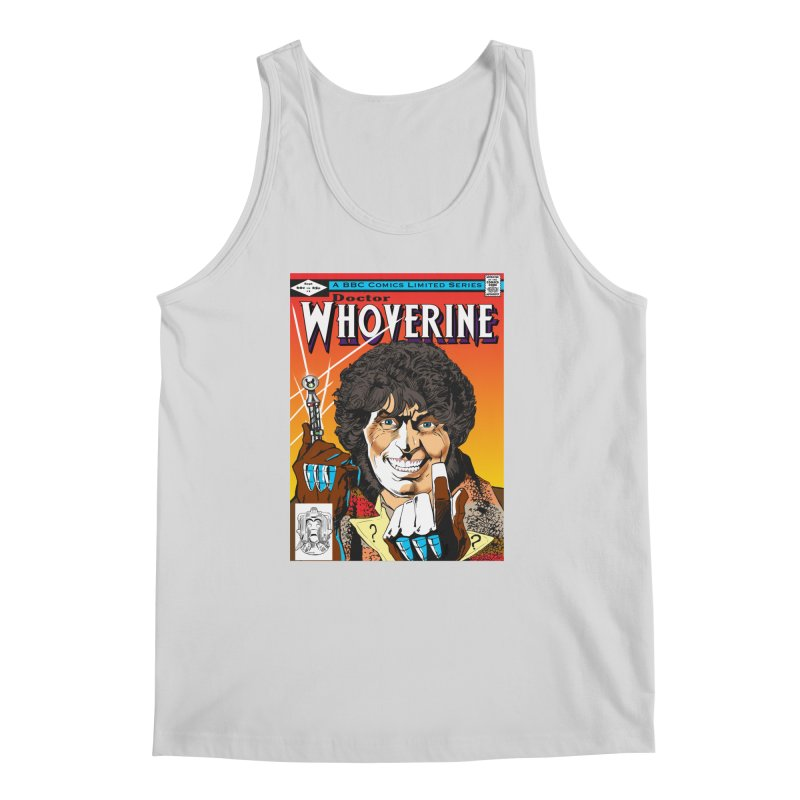 Doctor Whoverine Men's Tank by jeffcarpenter's Artist Shop