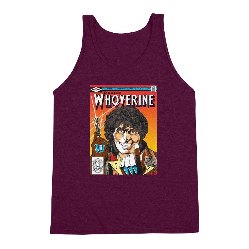 Doctor Whoverine Men's Triblend Tank by jeffcarpenter's Artist Shop