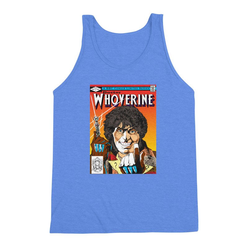 Doctor Whoverine Men's Triblend Tank by jeffcarpenter's Artist Shop