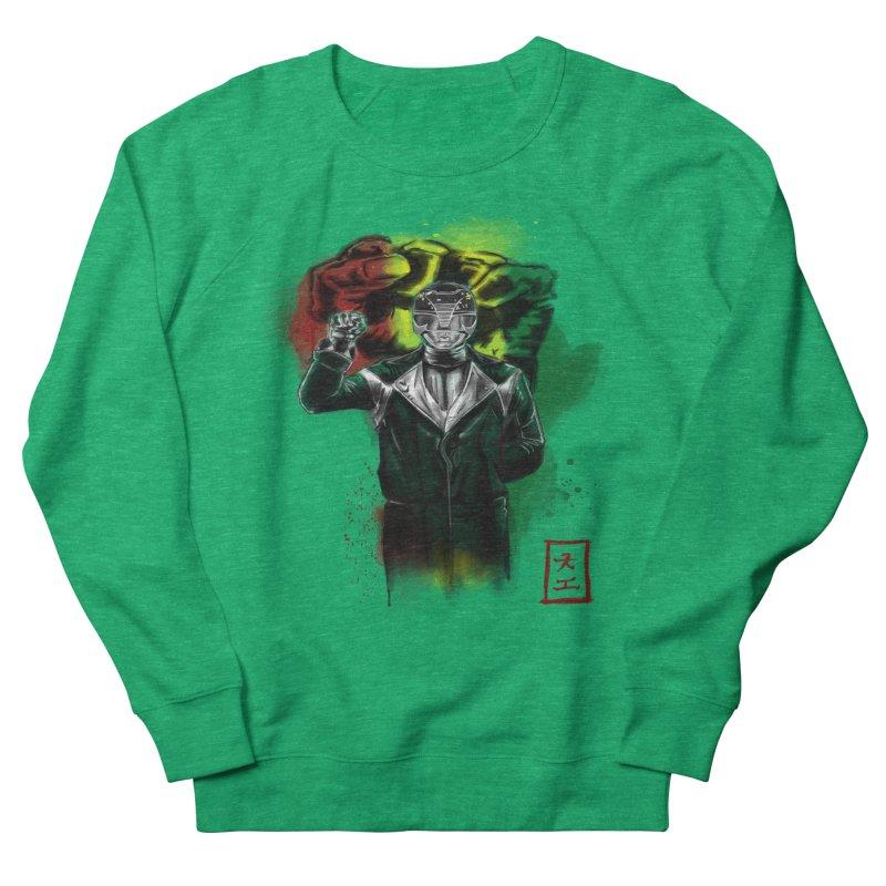 Black Power Ranger Women's Sweatshirt by jeffcarpenter's Artist Shop