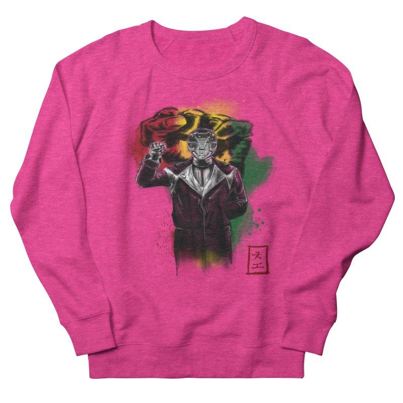Black Power Ranger Men's Sweatshirt by jeffcarpenter's Artist Shop