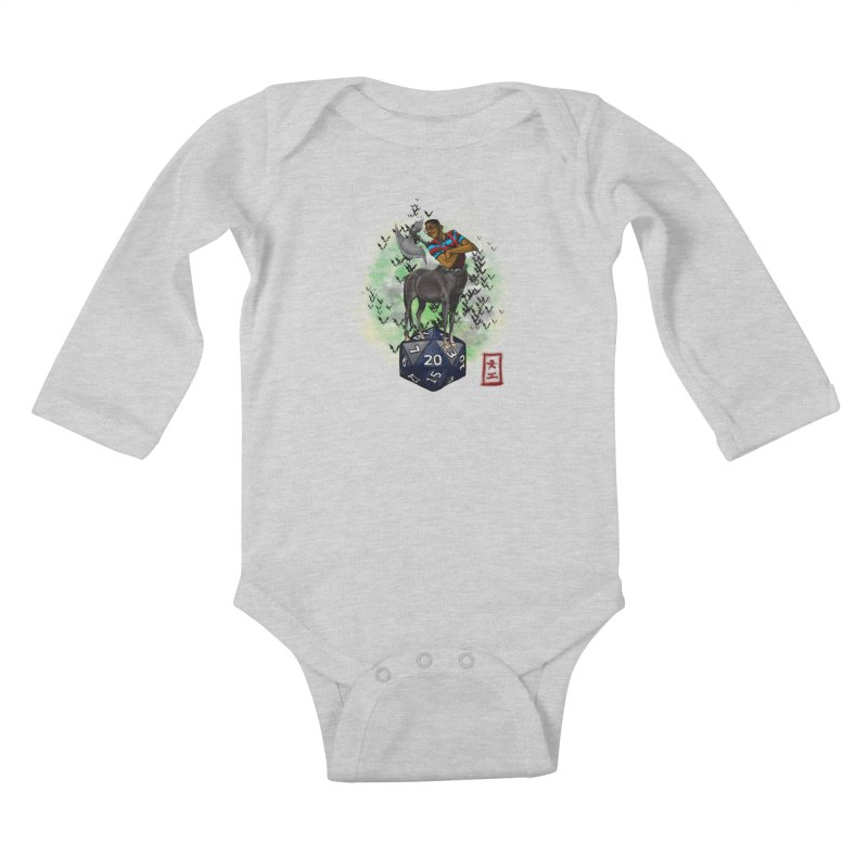 Did I Roll That? Kids Baby Longsleeve Bodysuit by jeffcarpenter's Artist Shop