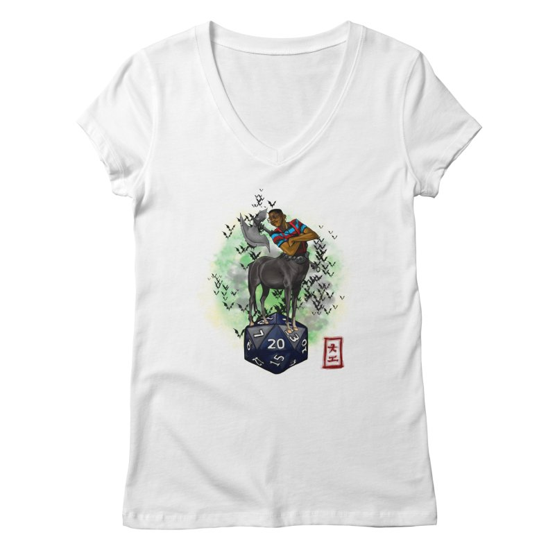 Did I Roll That? Women's V-Neck by jeffcarpenter's Artist Shop