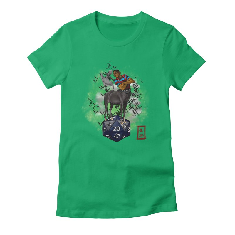 Did I Roll That? Women's Fitted T-Shirt by jeffcarpenter's Artist Shop