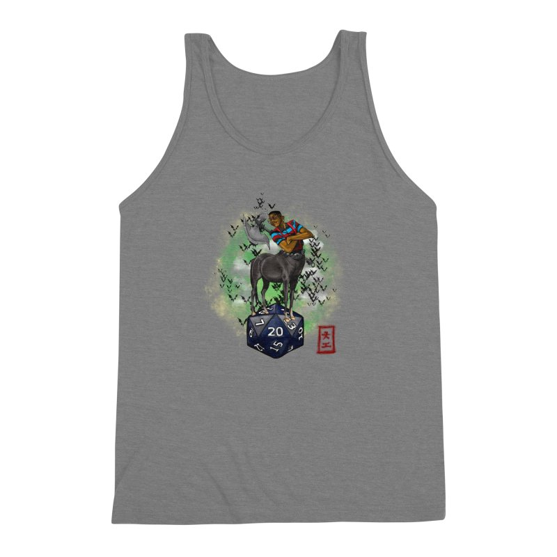 Did I Roll That? Men's Triblend Tank by jeffcarpenter's Artist Shop