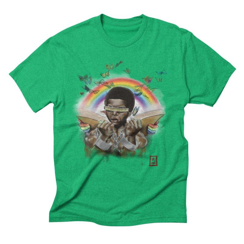Butterfies In The Sky Men's Triblend T-Shirt by jeffcarpenter's Artist Shop