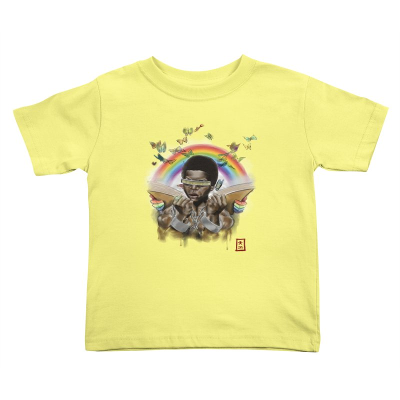 Butterfies In The Sky Kids Toddler T-Shirt by jeffcarpenter's Artist Shop
