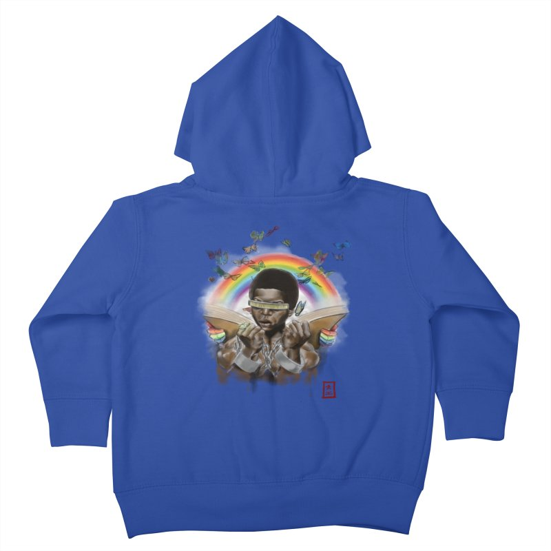 Butterfies In The Sky Kids Toddler Zip-Up Hoody by jeffcarpenter's Artist Shop