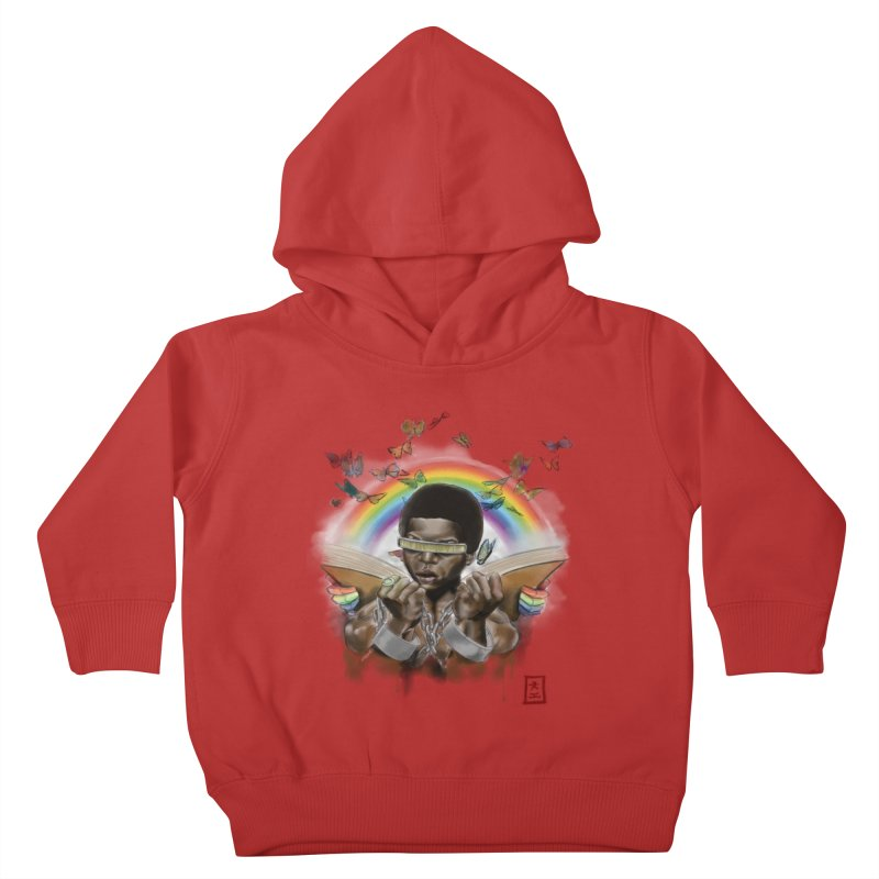 Butterfies In The Sky Kids Toddler Pullover Hoody by jeffcarpenter's Artist Shop