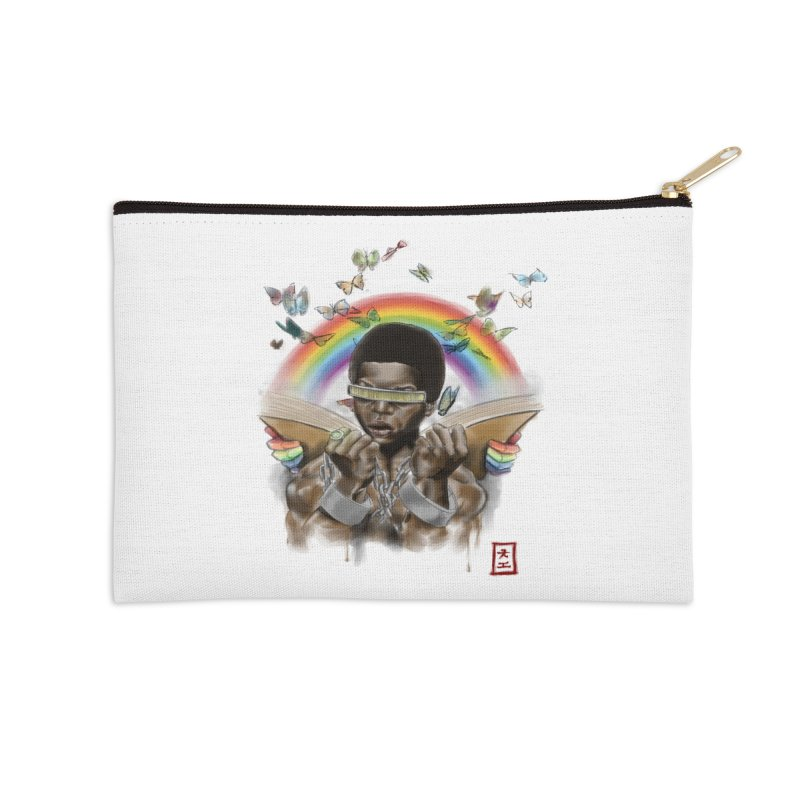 Butterfies In The Sky Accessories Zip Pouch by jeffcarpenter's Artist Shop